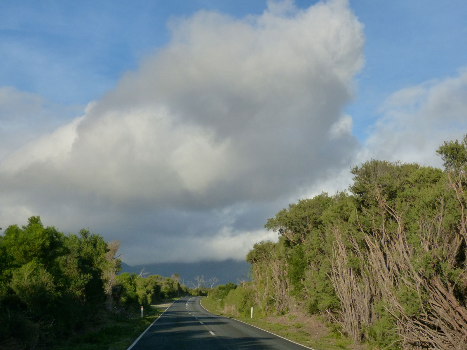 On the way to Tidal River