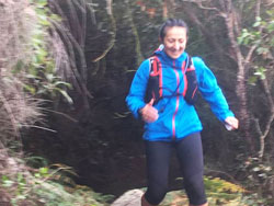 Tony OConnell took this picture of me somewhere around Refuge Cove